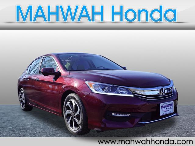 Certified Pre-Owned 2016 Honda Accord EX-L w/Navi w/Honda Sensing